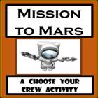 Mission to Mars: Psychology or Sociology Acticity - Person