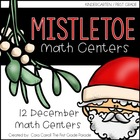 Mistletoe Math Tubs {12 Hands-On Math Activities for December}