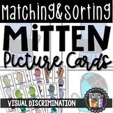 Mitten Themed Matching and Sorting Cards, Early Math Skill