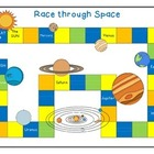 Mix & Match Game Board {Space} and Game Cards {Simple Addi