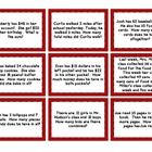 Mix & Match Game Cards {Key Words For Solving Word Problem