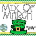 Mix of March (10 literacy centers)