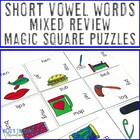 Mixed Short Vowel Magic Square Puzzle