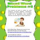 Mixed Word Problems #2