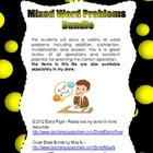 Mixed Word Problems Bundle