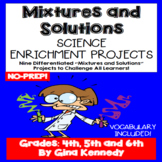 Mixtures And Solutions Physical Science Differentiated Pro