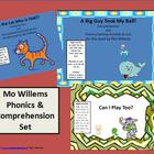 Mo Willems Phonics, Comprehension & Writing Response Set