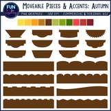 """""""Mod"""" Cover Page Graphics Kit {Autumn Colors Edition}"""