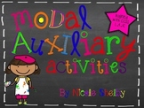 Modal Auxiliary Activities (aligned with CCSS)