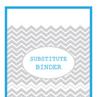 Modern Binder Covers - Freebie!