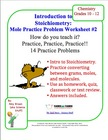 Mole Practice Worksheet #2