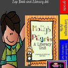 Molly's Pilgrim Literacy Unit with Lapbook aligned to the