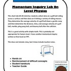 Momentum Inquiry Lab - On Level Physics