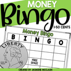Money Bingo (Practice 1-50 Cents)