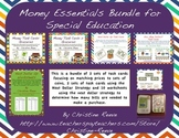 Money Essentials Bundle for Special Education [Task Cards,