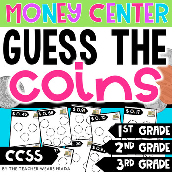 Money Game: Guess the Coins w Recording Sheet