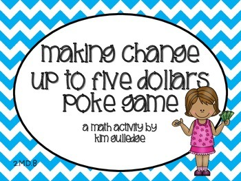 Money: Making Change up to $5.00