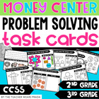 Money Problem Solving Activity Cards