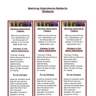 Monitoring Comprehension - Comprehension Strategy Bookmark