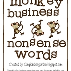 Monkey Business Nonsense Words