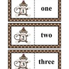 Sock Monkey Number Match Ups