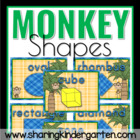 Monkey Shape Posters