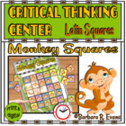 Monkey Squares Critical Thinking