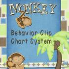 Monkey Theme Behavior Cip Chart System