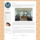 Monogram Blogger Template Blog Theme