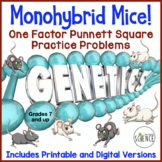 Monohybrid Mice!   (Monohybrid Genetics Problems)