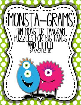 Monsta-Grams Tangram Puzzles