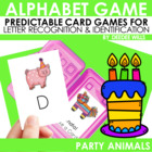 Monster Birthday Bash!  Memory and ABC Game