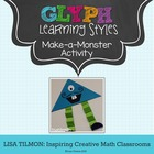 Monster Glyph for Learning Styles