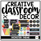 Monster Mania Classroom Theme