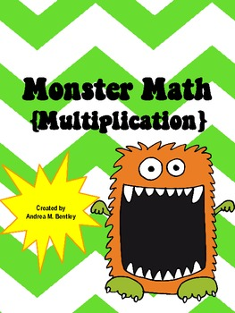 Monster Math {Multiplication}