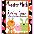 Monster Math Review Game of Numbers and Operations