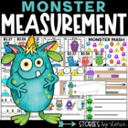 Monster Measurement Madness (Math Activities Aligned to 2n