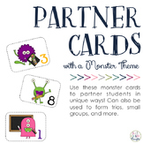 Monster Partner & Group Cards