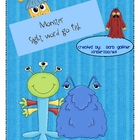 Monster Sight Word go Fish