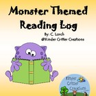 Monster Themed Reading Log