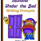 Monster Under the Bed Writing Prompts and Fun Activities