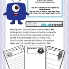 Monster Writing Paper: From the Desk of.. for students
