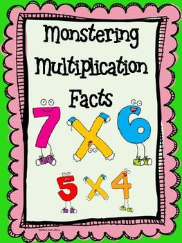 sail BTS Monstering Multiplication Facts