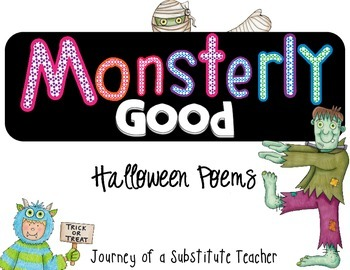 Monsterly Good Poems: Halloween Poem Pack