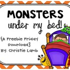 Monsters Under My Bed {A Freebie Friday Download}