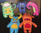 Monsters Writing Craftivity Pack