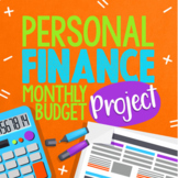 Monthly Budget Project: Personal Finance, Budgeting, and P