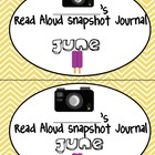 Monthly Read Aloud Snapshot Journals