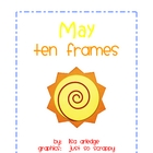 Monthly Ten Frames--May sun