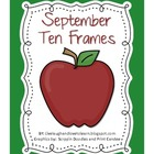Monthly Ten Frames--September apples